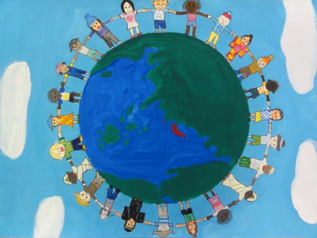 国際平和ポスター 愛知中央ライオンズクラブ 愛知中央ライオンズクラブ 社会奉仕に精進する愛知中央