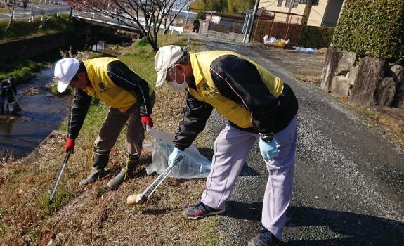三本木川清掃